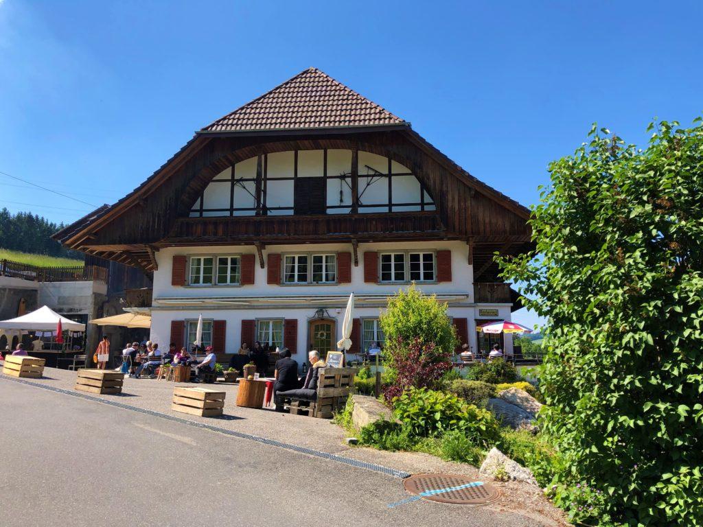Restaurant Dentenberg - Hier gibt es Glädus Glace. Glaedus.